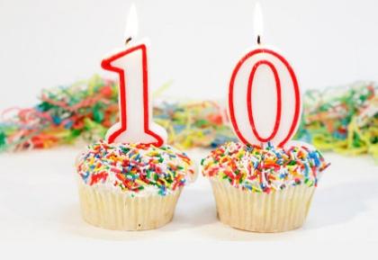 Первый круглый юбилей: нам 10 лет!