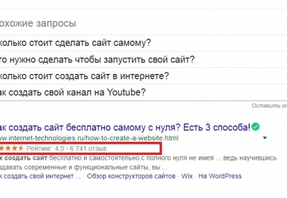 За что Google лишает расширенных сниппетов