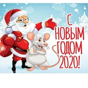 С Новым годом 2020!