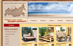 Создание интернет-магазина мебели ЮМ-Интерьер